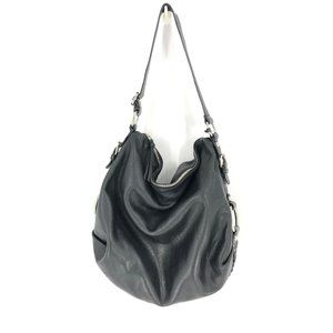 Banana Republic | Black Leather Hobo Purse